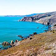 Muir Beach Lookout North View Art Print