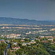 Mullholland Estates Luxury Residences San Fernando Valley Ca Art Print