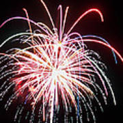 4th Of July Fireworks 8 Art Print