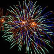 4th Of July Fireworks 22 Art Print