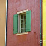 Multicolored Walls, France Art Print