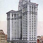 Municipal Building Art Print by Granger