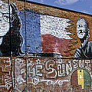 Mural And Graffiti Art Print