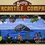 Mural Bandon Mercantile Company Art Print