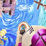 Church Mural Art Print