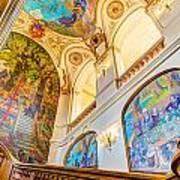 Murals Of Capitole De Toulouse Art Print