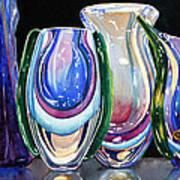 Murano Crystal Art Print
