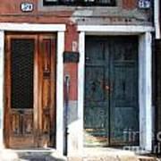 Murano Doors Art Print