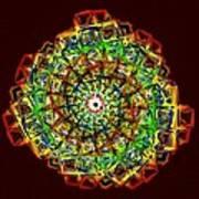 Murano Glass - Red Art Print