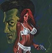 Murder By Scarlett Art Print