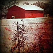 Murder In The Red Barn Art Print