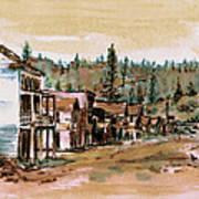 Murphys Camp California Art Print