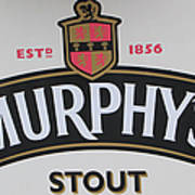 Murphy's Stout Art Print