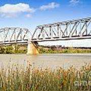 Murray Bridge Art Print