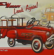 Murray Fire Truck Art Print