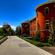 Murrow Hall - Washington State University Art Print