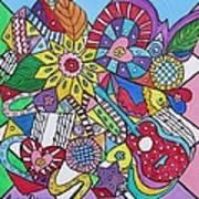 Musaic Art Print