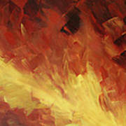 Muse In The Fire 2 Art Print