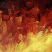 Muse In The Fire 3 Art Print