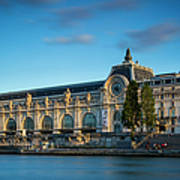 Musee D'orsay Evening Art Print