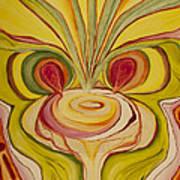 Sage Onion Mushroom Art Print
