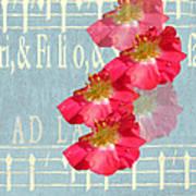 Music And Roses Art Print
