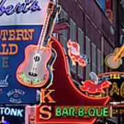 Music Clubs Nashville Art Print
