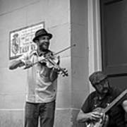 Music In The French Quarter Art Print