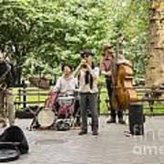 Music In The Park Art Print