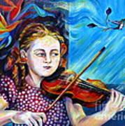 Music Lessons Art Print