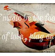 Music Lover Card Art Print