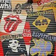 Music Street Art Color Art Print