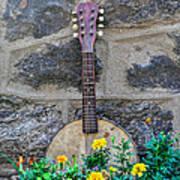 Musical Garden Art Print