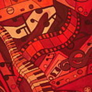 Musical Movements Print by Chelsea Allen
