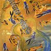 Musical Waters Art Print