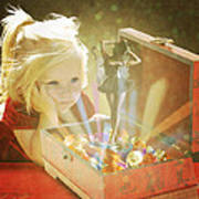 Musicbox Magic Art Print