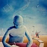 Musician's Dreams Art Print