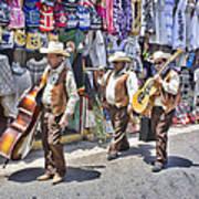 Musicians La Bufadora Art Print