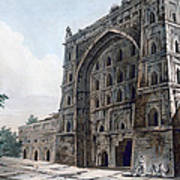 Musjid At Jaunpur Art Print