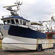 Mussel Boat Art Print