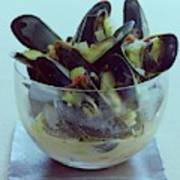 Mussels In Broth Art Print