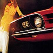 Mustang '70 Art Print