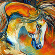 Mustang West Art Print