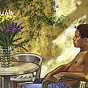 Mustapha's Garden Art Print