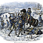 Mutiny: Anthony Wayne 1781 Art Print by Granger