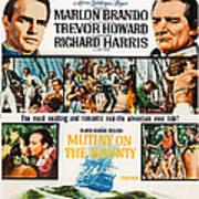 Mutiny On The Bounty, Us Poster Art Art Print