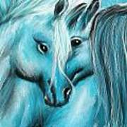 Mutual Companions- Fine Art Horse Artwork Art Print