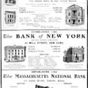 Mutual Funds, 1901 Art Print