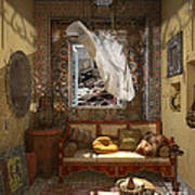My Art In The Interior Decoration - Morocco - Elena Yakubovich Art Print