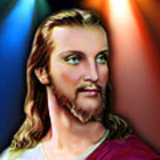 My Beautiful Jesus 3 Art Print